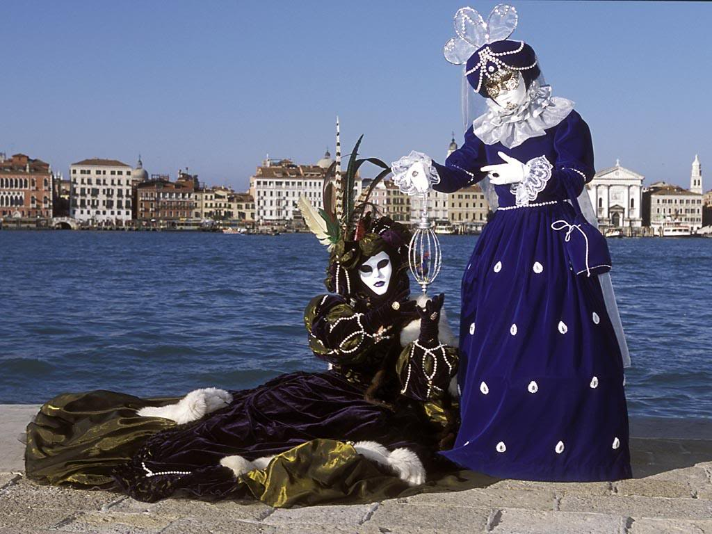 Venetian Masks Great Italy Carnival