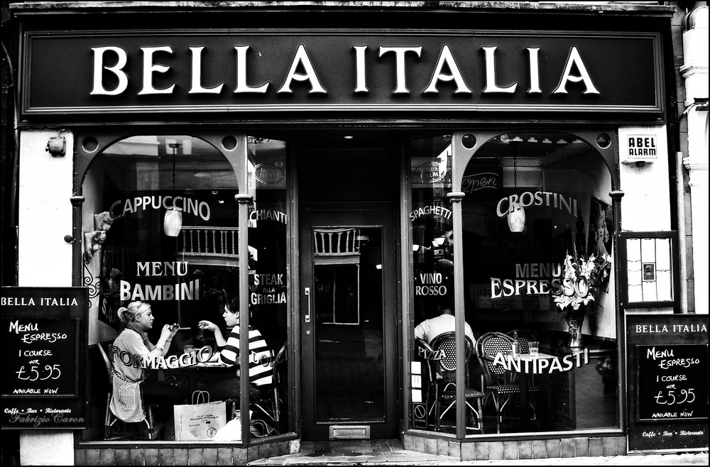 Made in Italy Restaurants in London