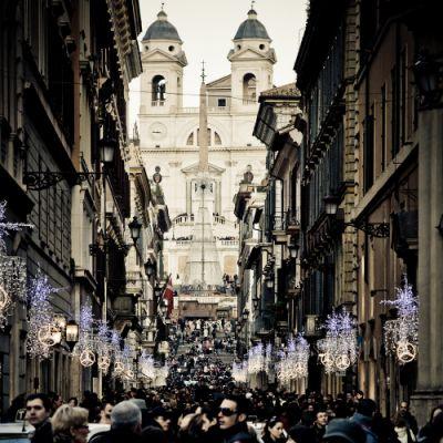 Fashion Via Dei Condotti Great Italy
