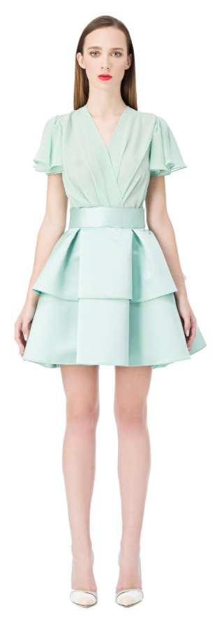 Aquamarine short dress
