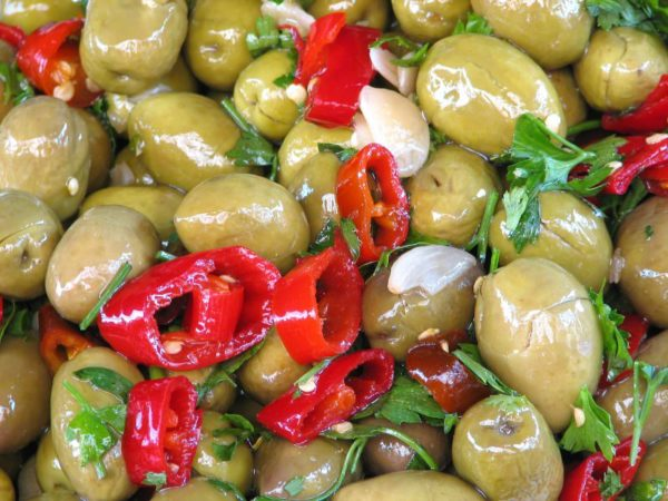 Olives in Brine Biological