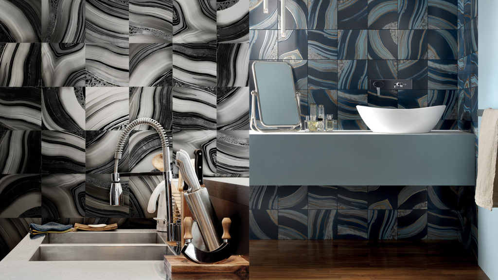 Bathroom - Modern Tiles