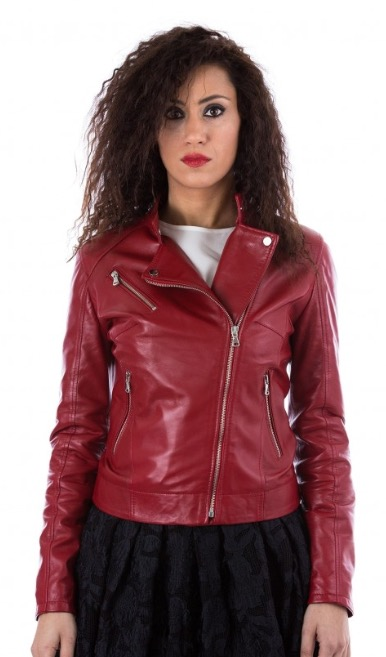 Woman's Jacket Leather