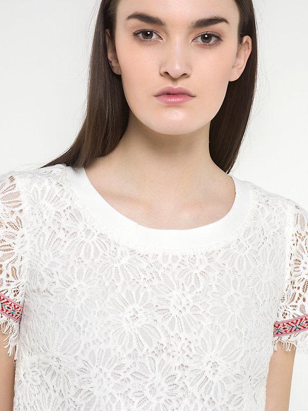 macrame white dress