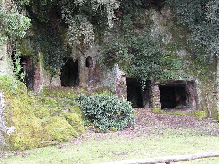 Italy - Etruscan caves - Latium