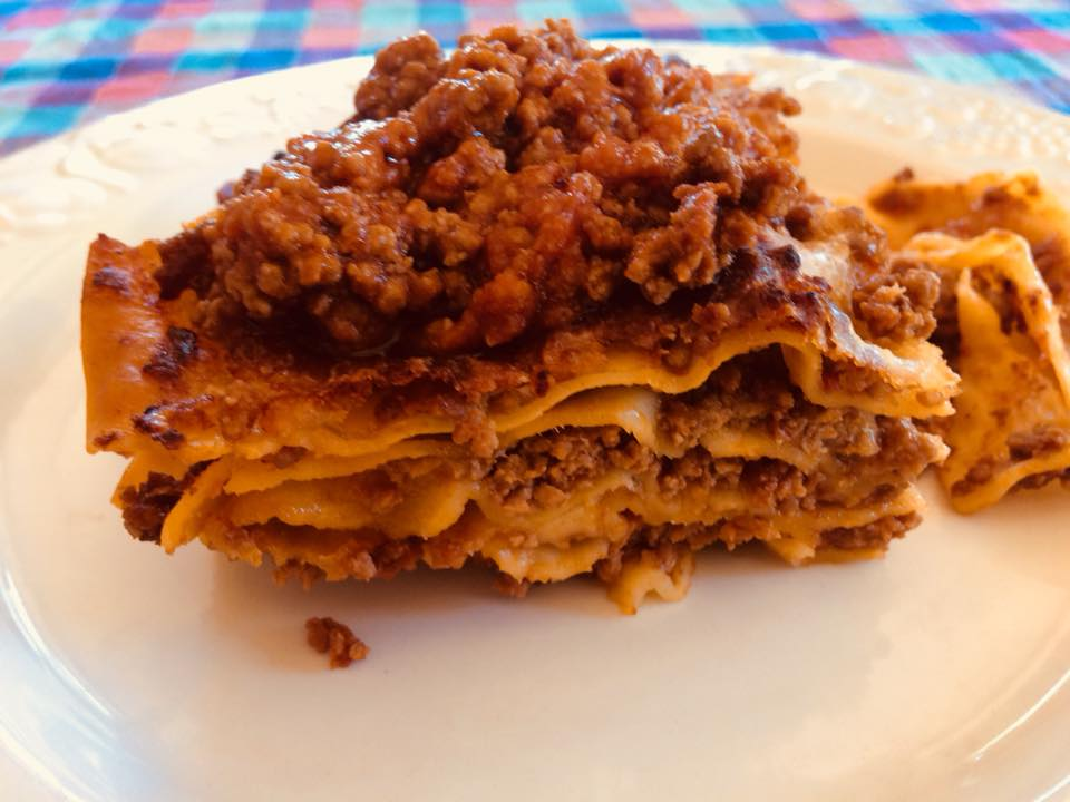 Pasta handmade Great Italy Food - Lasagna